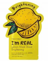 Tony Moly I'm Real Mask Sheet Lemon Brightening