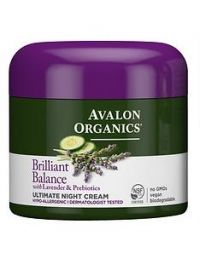Avalon Organics Ultimate Night Cream, Lavender