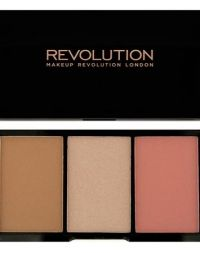 Makeup Revolution Iconic Pro Blush, Bronze and Brighten Flush Flush