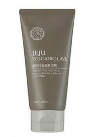 The Face Shop Jeju Volcanic Lava Peel Off Clay Nose Mask