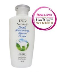 Leivy Double Moisturising Shower Cream Goat's Milk