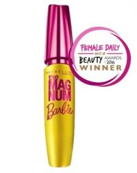 Maybelline Magnum Barbie Waterproof Mascara Black