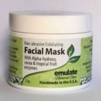 Emulate Natural Care Fruit Enzyme Exfoliating Mask with Organic Cocoa and Noni Berry