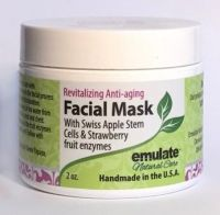 Emulate Natural Care Fruit Enzyme Exfoliating Mask with Organic Strawberry and Noni Berry
