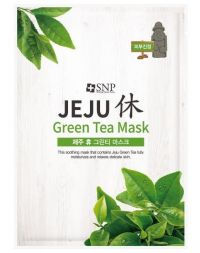 SNP Jeju Rest Green Tea Mask