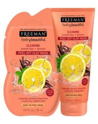 FREEMAN Clearing Sweet Tea + Lemon Peel-Off Clay Mask