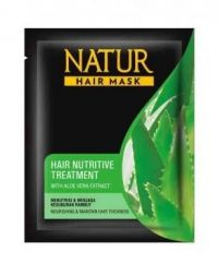 Natur Hair Mask Hair Nutritive Treatment with Aloe Vera Extract