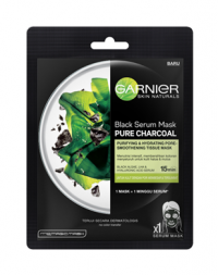 Garnier Black Serum Mask Pure Charcoal Black Algae