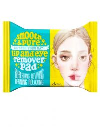 Ariul Smooth & Pure Lip and Eye Remover Pad