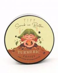 Tiff Scrub in Butter Turmeric + Coffee