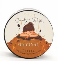 Tiff Scrub in Butter Original Coffee