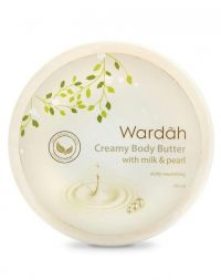 Wardah Creamy Body Butter Milk and Pearl