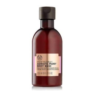 The Body Shop Spa of The World Adriatic Peony Body Wash Relaxing Bath & Shower Cream