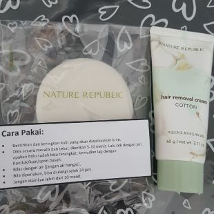 Nature Republic Hair Removal Cream Cotton