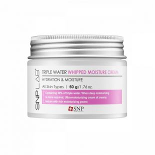 SNP SNP Lab+ Triple Water Whipped Moisture Cream