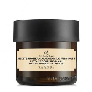 The Body Shop Mask Mediterranean Almond Milk with Oat Mask