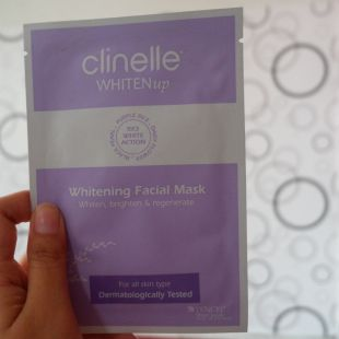 Clinelle Whiten Up Whitening Facial Mask Purple Rice