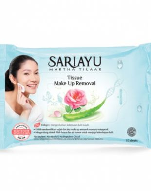 Sariayu Tissue Make Up Removal