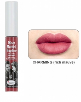 theBalm Meet Matt(e) Hughes Long-Lasting Liquid Lipstick Charming