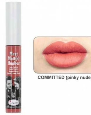 theBalm Meet Matt(e) Hughes Long-Lasting Liquid Lipstick Committed