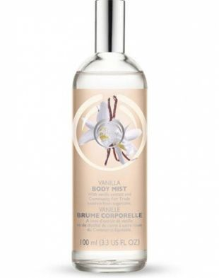 The Body Shop Vanilla Body Mist Vanilla