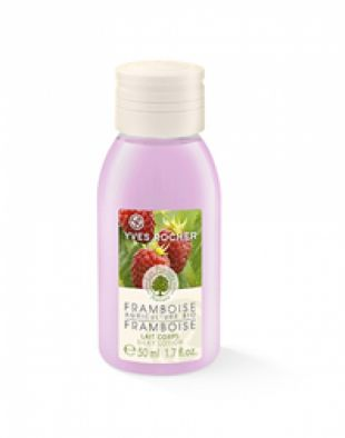 Yves Rocher Silky Lotion Organically-grown Raspberry