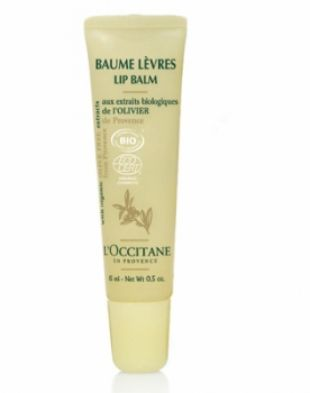 L'Occitane Lip Balm With Organic Olive Tree Extract