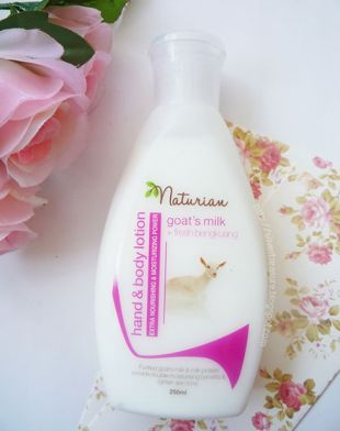 Naturian Hand and Body Lotion Bengkuang and Goat's Milk