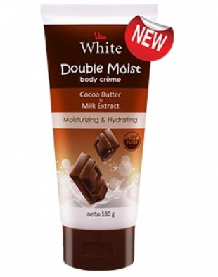 Viva Cosmetics Double Moist Body Creme Cocoa Butter and Milk Extract