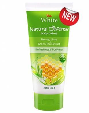 Viva Cosmetics Natural Defense Body Creme Honey Lime and Green Tea Extract