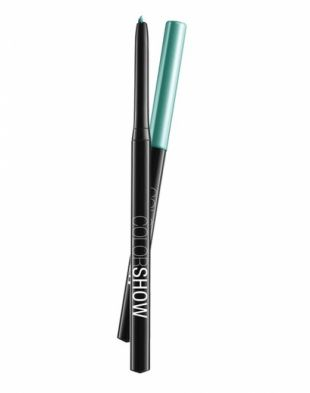 Maybelline Color Show Eye Liner Light Peacock Green