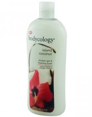 Bodycology Island Coconut Shower Gel and Foaming Bath