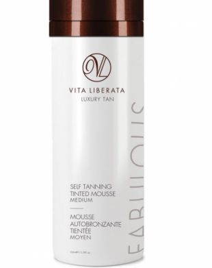 Vita Leberata Fabulous Tinted Self Tanning Mousse Medium