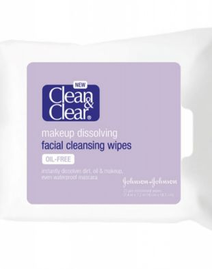 Clean And Clear Facial Cleansing Wipes