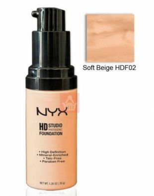 NYX HD Studio Photogenic Foundation Soft Beige