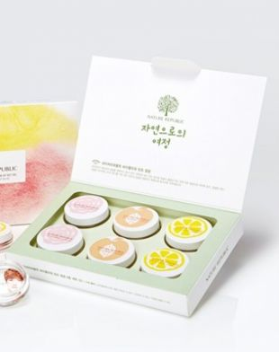 Nature Republic By Flower Tint Lip Balm Pink
