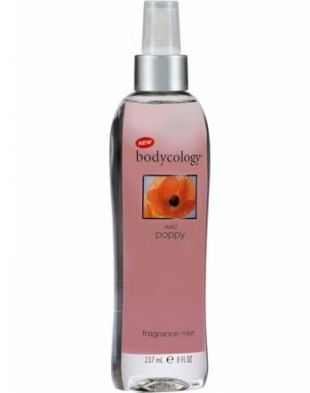 Bodycology Wild Poppy top notes Jasmine and rose