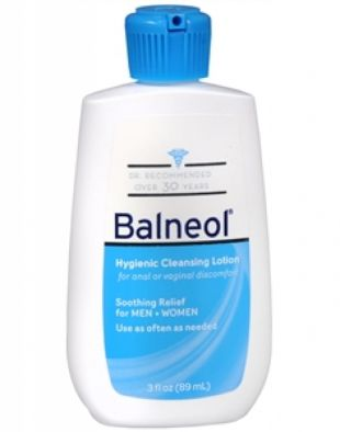 Balneol Hygienic Cleansing Lotion Soothing Relief
