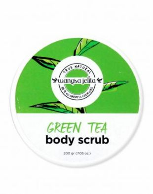 Wangsa Jelita Body Scrub Green Tea