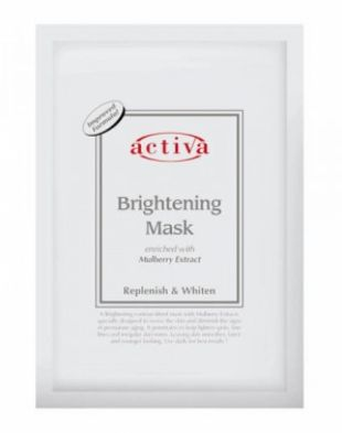 Activa Brightening Mask Enriched with Mulberry Extract