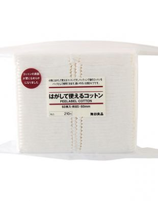 Muji Peelable Cotton Cotton Pad