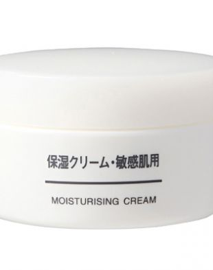 Muji Moisturising Cream Sensitive