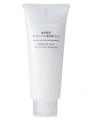 Muji Sensitive Skin All In One Essence Moisturizing Gel