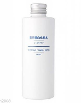 Muji Whitening Toning Water Light
