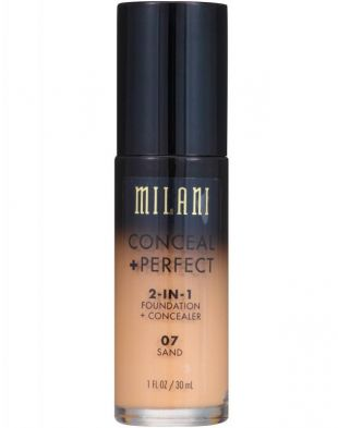 Milani Conceal  Perfect 2-In-1 Foundation and Concealer 07 Sand