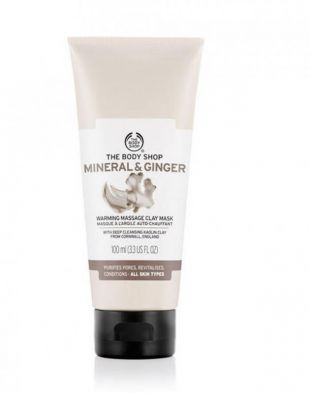 The Body Shop Mineral & Ginger Warming Message Clay Mask
