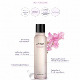 A-True A-true Violet Petal Black Tea Hydrating Toner Hydrating Toner