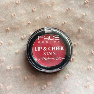 FACE Recipe Lip & Cheek Stain Candied Apple