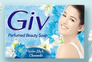 GIV Perfume Soap Water Lily and Chamomile