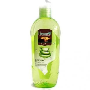 Herborist Body Wash Gel Shooting & Moisturizing Aloe Vera